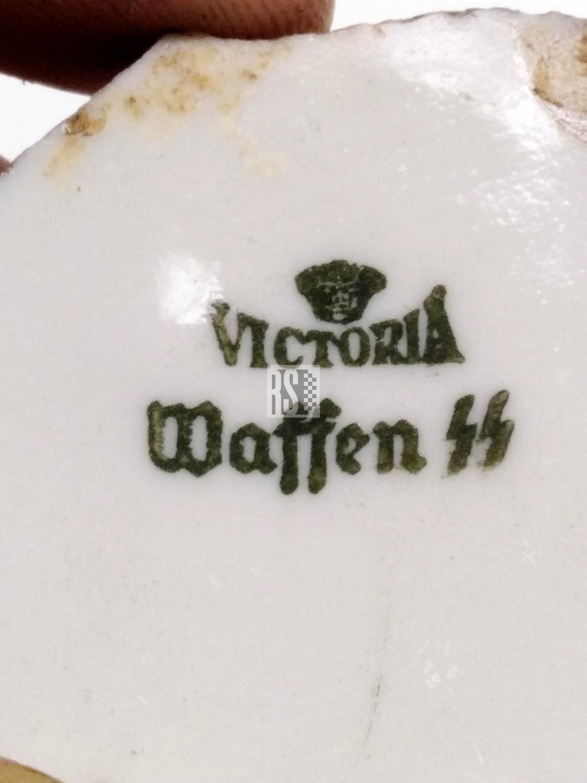 Victoria Waffen SS porcelain relic piece - Rocksteady Militaria