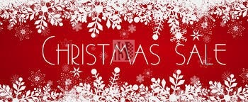 December Christmas sales