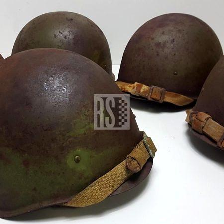 soviet WW2 helmets