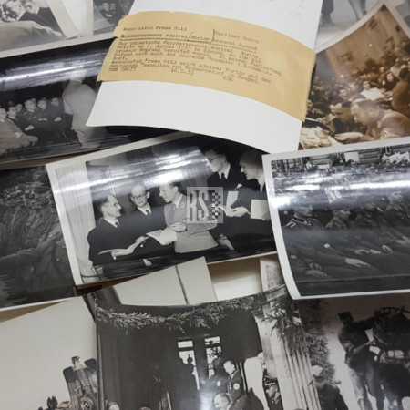 Original wartime Press photo's